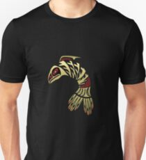 Pacific Northwest Black and Gold Salmon Icon T-Shirt