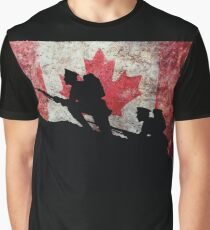 Over The Top! Canada Graphic T-Shirt