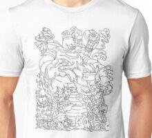Doodle Pokémon (Ghost Type Version) Unisex T-Shirt