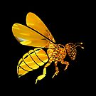 Sunflower Bee by Betty Northcutt
