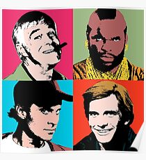 The A-Warhol Team Poster