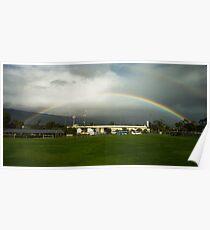 Harder Stadium Rainbow Poster