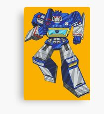 Soundwave Transformers Canvas Print