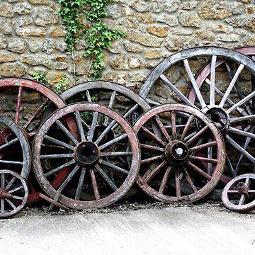Cart Wheels by GCooles