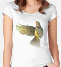 Imagine Dragons Pixel Bird Women's Fitted Scoop T-Shirt