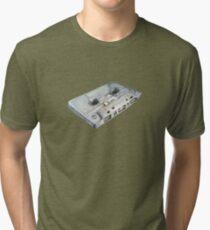 Cassette Watercolor Tri-blend T-Shirt