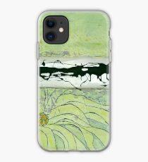 Iron Petal iPhone Case