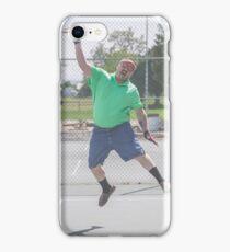 "The Funny Stepdad ""Tennis Legend"" iPhone Case/Skin"