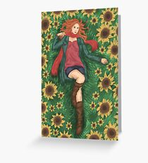 For Amy Pond Greeting Card