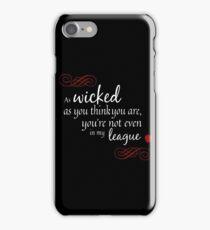 Evil Queen in Wicked iPhone Case/Skin