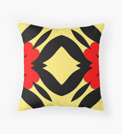 Flower of Gold 2 by Julie Everhart Throw Pillow