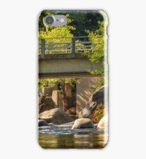 Fishing In Deer Creek iPhone Case/Skin