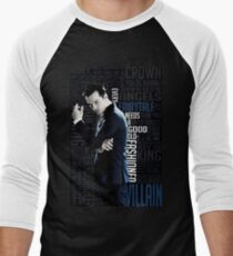 Jim Moriarty Men's Baseball ¾ T-Shirt