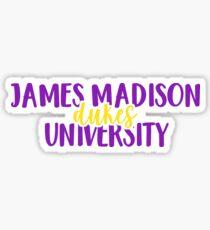 James Madison University - Dukes Sticker