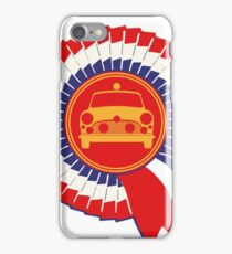 BMC 'Works' Rally Mini Cooper S Rosette - 1964 iPhone Case/Skin
