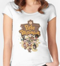 Parks & Rec Women's Fitted Scoop T-Shirt