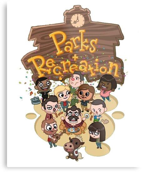Parks & Rec by Tom Houlden