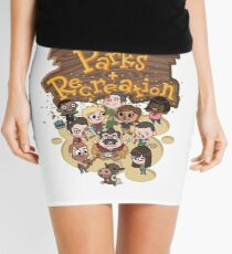 Parks & Rec Mini Skirt