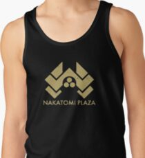 A distressed version of the Nakatomi Plaza symbol Tank Top
