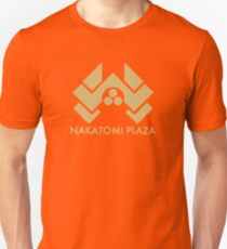 A distressed version of the Nakatomi Plaza symbol T-Shirt