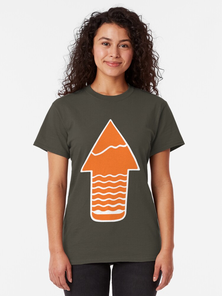 Alternate view of TAKE A HIKE Classic T-Shirt