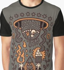 Grand Magus Summons Entity With Dark Popcorn Power Graphic T-Shirt