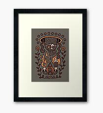 Grand Magus Summons Entity With Dark Popcorn Power Framed Print