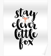 Stay clever  Poster