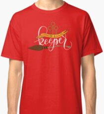 White 'I'm A Keeper' Pun - Red Classic T-Shirt