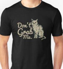 Anti-Trump Million Woman March Resist Don't Grab Me.  Unisex T-Shirt