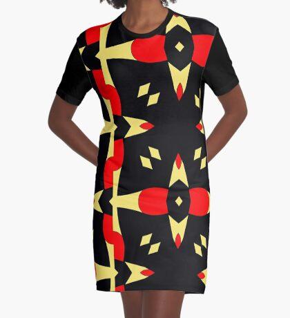 Flower of Gold 3 by Julie Everhart Graphic T-Shirt Dress