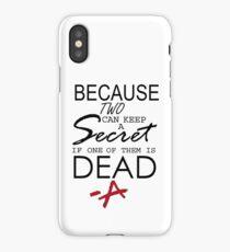 Secret iPhone Case