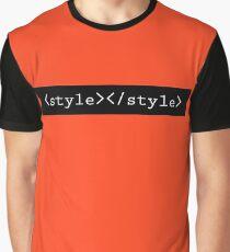 GeekChic - CSS Stylesheet Graphic T-Shirt