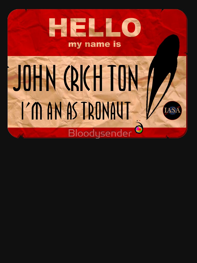 Hello my name is John Crichton by Bloodysender