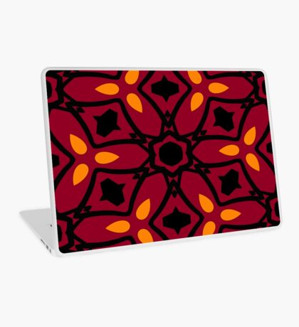 Burnt Orange and Peach by Julie Everhart Laptop Skin
