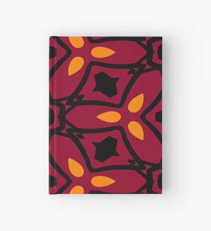 Burnt Orange and Peach by Julie Everhart Hardcover Journal