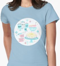 Sugar And Spice And Everything Nice Womens Fitted T-Shirt
