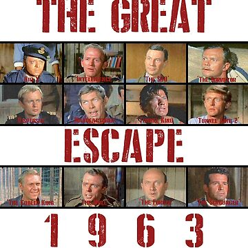 The Great Escape (1963) colour by rhizatay