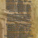 Invictus, prose on parchment look background by Irisangel
