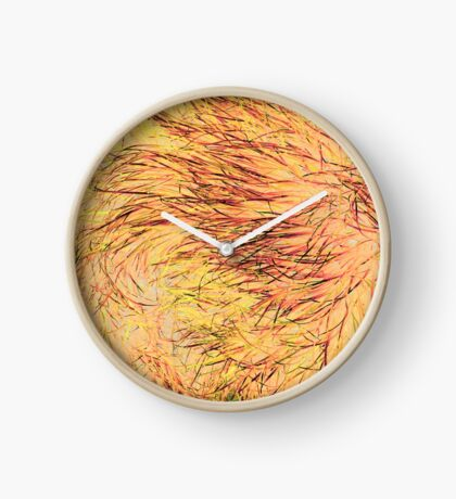 A Swirl of Grass - Fiery Clock