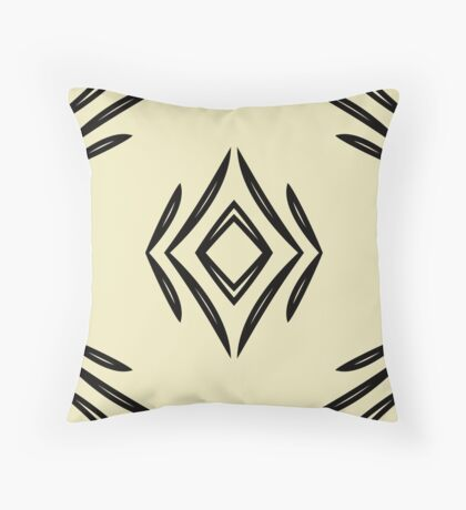 Style Lines by Julie Everhart Throw Pillow