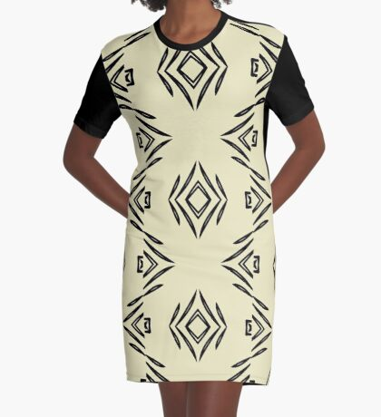 Style Lines by Julie Everhart Graphic T-Shirt Dress