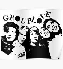 GROUPLOVE - Silhouette Poster