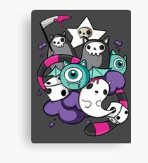 death dice Canvas Print
