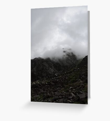 Through Mists Of Time Greeting Card
