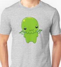 chibi cthulhu - the green monster Unisex T-Shirt