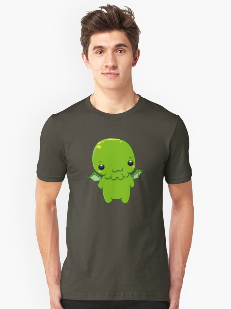 chibi cthulhu - the green monster by ConceptStore