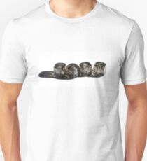 Grey Dice Unisex T-Shirt