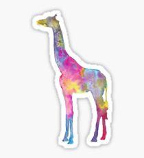 Giraffe Sticker