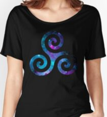 Galaxy Teen Wolf Triskelion Women's Relaxed Fit T-Shirt